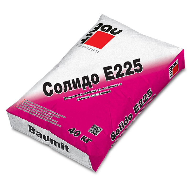 Баумит замазка SOLIDO E225 / 40кг. цена