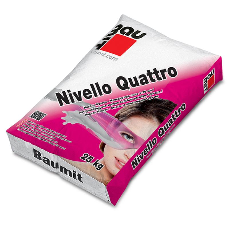 Баумит Нивело Куатро саморазливна замазка цена