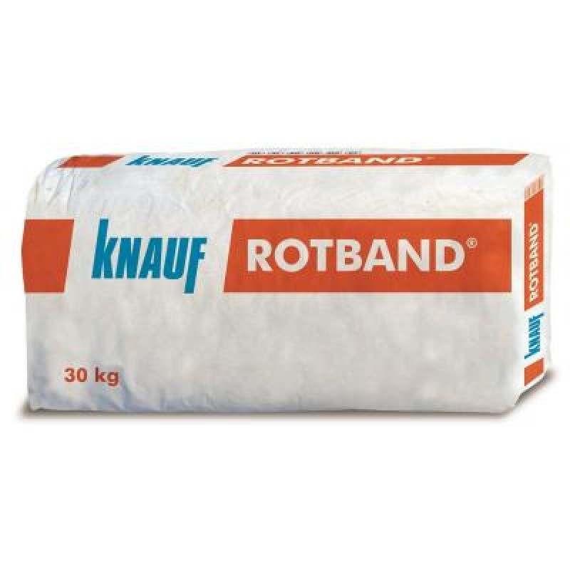 Ръчна гипсова мазилка Knauf ROTBAND 30кг. цена