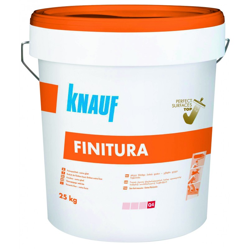 Шпакловка Шийтрок оранжев капак (Knauf Finitura) цена