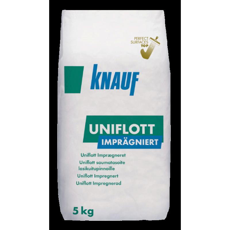 Knauf Uniflott - Шпакловъчна импрегнирана маса 5 кг цена