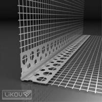 Likov PVC ъгъл за свод 2.5м. 30х30