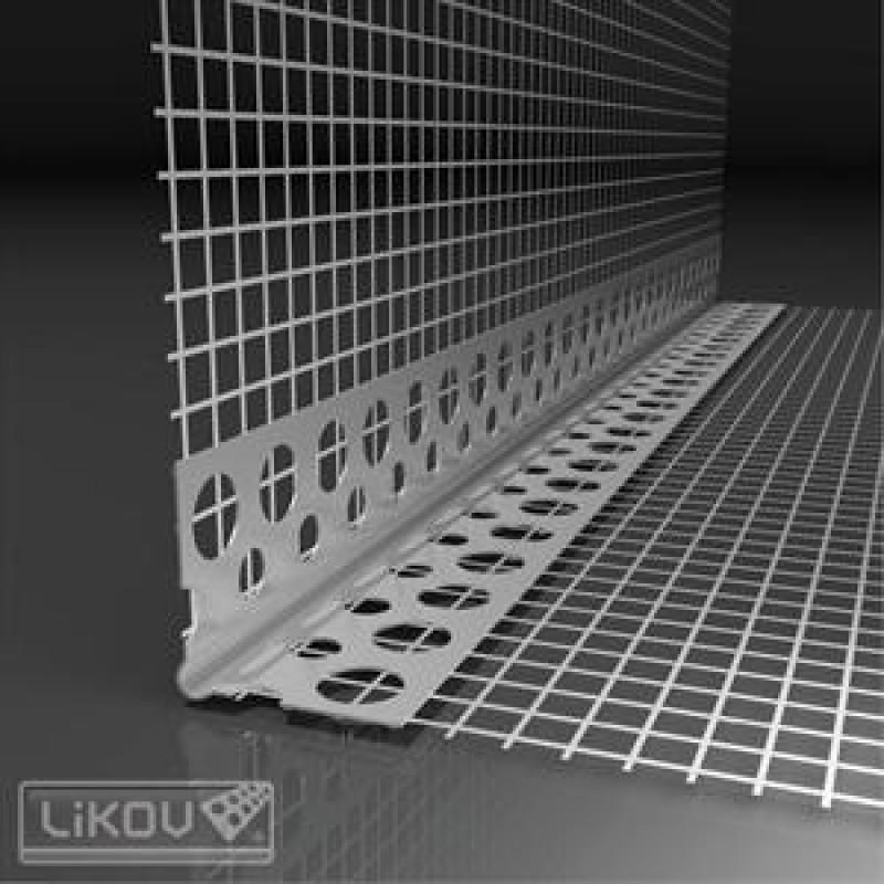 Likov PVC ъгъл за свод 2.5м. 30х30 цена