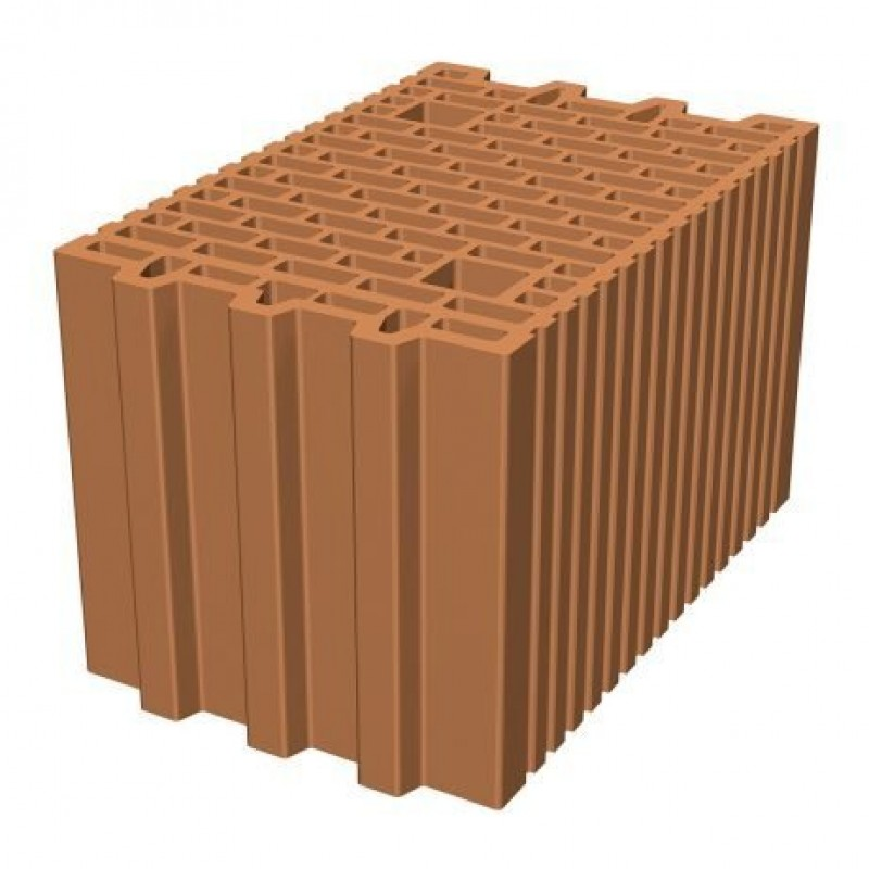 Керамични блокове Porotherm 25 N+F цена