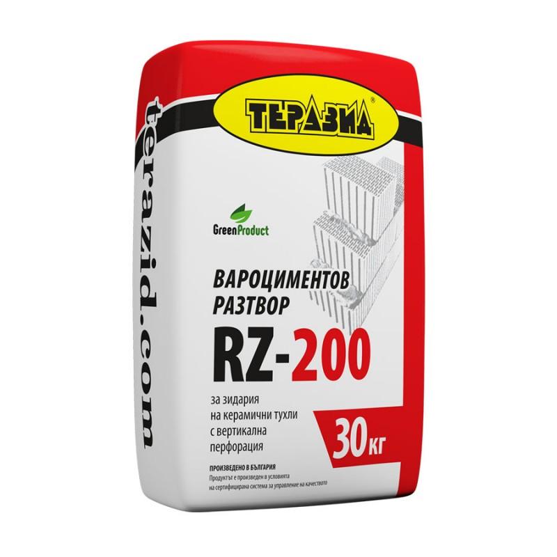 Теразид RZ 200 зидарски разтвор 30кг. цена