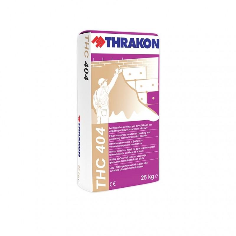 Тракон THC 404 - лепило-шпакловка за EPS/XPS  цена