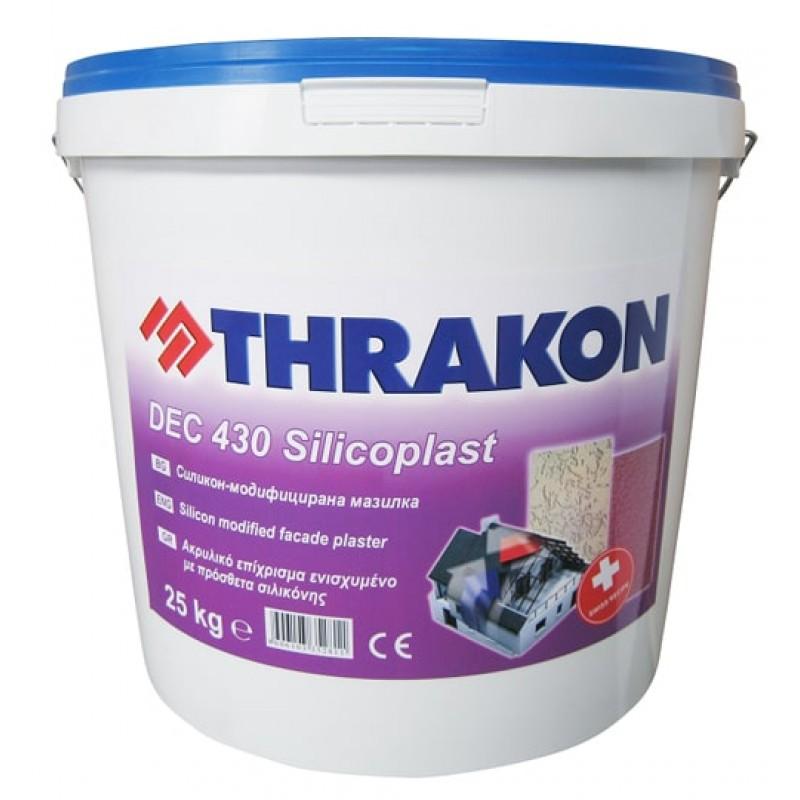 Силикон-модифицирана мазилка DEC 430 Silicoplast Тракон цена