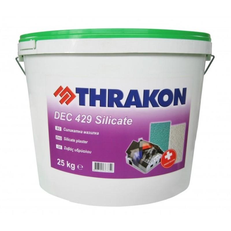 Силикатна мазилка DEC 429 Silicate Тракон цена