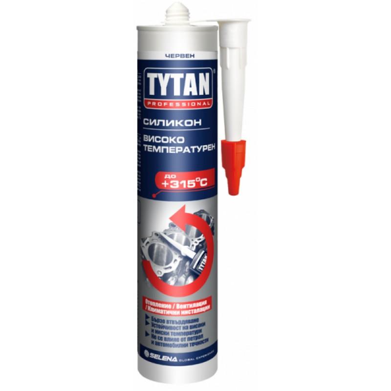 Високотемпературен силикон червен Tytan  цена