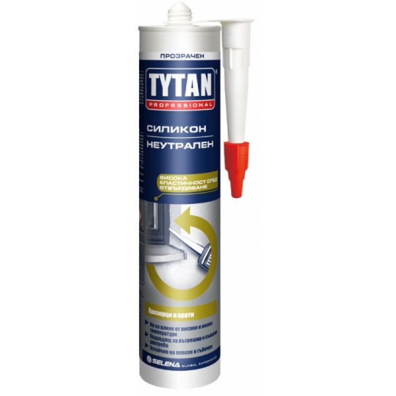 Неутрален прозрачен силикон 280 мл - Tytan цена