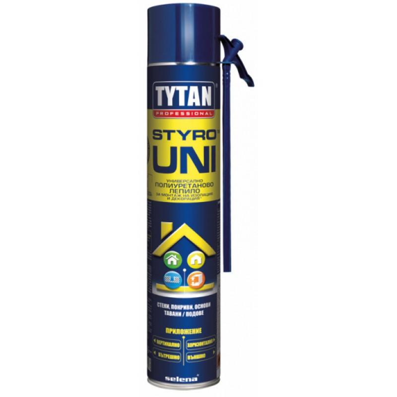 UNI ръчно лепило за топлоизолационни плоскости -750 ml.  цена